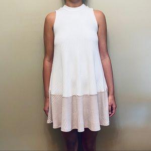 Francesca's Collections  mockneck colorblock dress